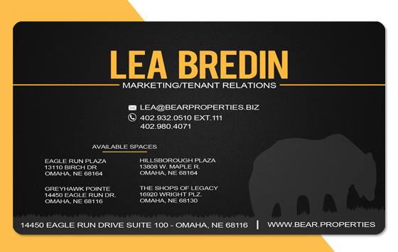 Lea Bredin - Bear Properties